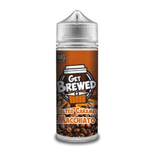 Salted Caramel Macchiato E Liquid (Zero Nicotine & Free Nic Shots to make 120ml/3mg) by Get Brewed