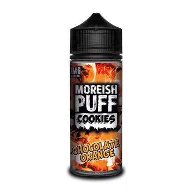 Chocolate Orange Cookies E Liquid (Zero Nicotine & Free Nic Shots to make 120ml/3mg) by Moreish Puff