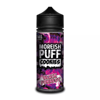 Black Forest Cookies E Liquid (Zero Nicotine & Free Nic Shots to make 120ml/3mg) by Moreish Puff