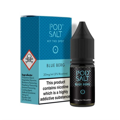Blue Berg - Pod Salt - 20mg Nicotine Salts E Liquid - 10ML