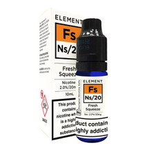 Fresh Squeeze - Element NS20 - 20mg Nicotine Salts E Liquid - 10ML