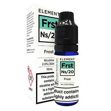 Frost - Element NS20 - 20mg Nicotine Salts E Liquid - 10ML
