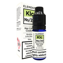 Key Lime Cookie - Element NS20 - 20mg Nicotine Salts E Liquid - 10ML
