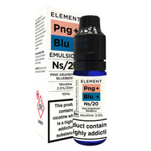 Pink Grapefruit & Blueberry - Element NS20 - 20mg Nicotine Salts E Liquid - 10ML