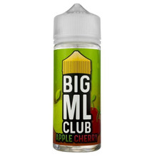 Apple Cherry E Liquid (Zero Nicotine & Free Nic Shots to make 120ml/3mg) by Big ML Club