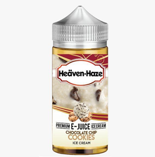Chocolate Chip Cookie Ice Cream E Liquid (Zero Nicotine & Free Nic Shots to make 120ml/3mg) by Heaven Haze