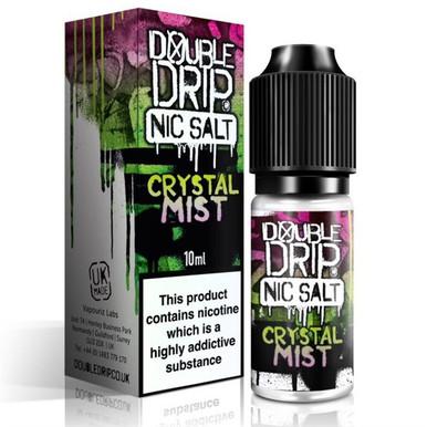 Crystal Mist Nic Salt 20mg E Liquid 10ml By Double Drip