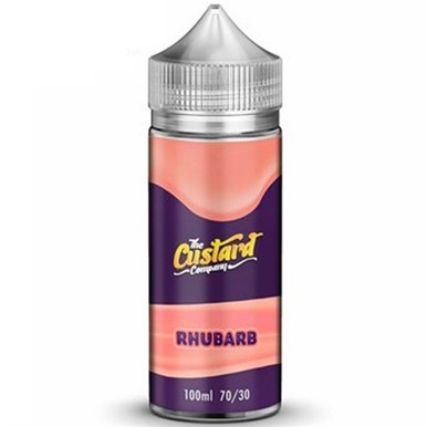 Rhubarb Custard E Liquid 100ml by The Custard Company