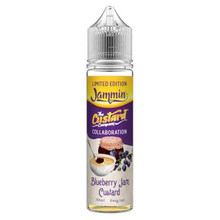 Blueberry Jam Custard E Liquid 50ml by The Custard Company Only £11.99 (Zero Nicotine or with Free Nicotine Shot)