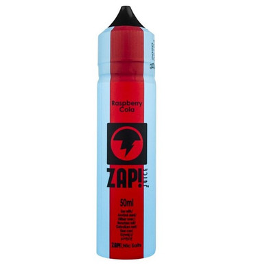 Raspberry Cola E Liquid 50ml by Zap! Only £11.99 (Zero Nicotine or with Free Nicotine Shot)