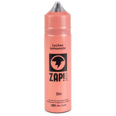 Lychee Lemonade E Liquid 50ml by Zap! Only £11.99 (Zero Nicotine or with Free Nicotine Shot)