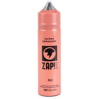 Lychee Lemonade E Liquid 50ml by Zap! Only £11.99 (Zero Nicotine or with Free Nicotine Shot)