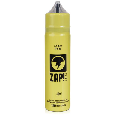 Snow Pear E Liquid 50ml by Zap! Only £11.99 (Zero Nicotine or with Free Nicotine Shot)