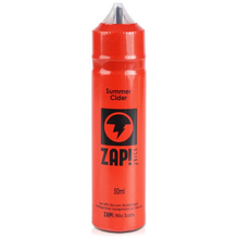 Summer Cider E Liquid 50ml by Zap! Only £9.49 (Zero Nicotine or with Free Nicotine Shot)