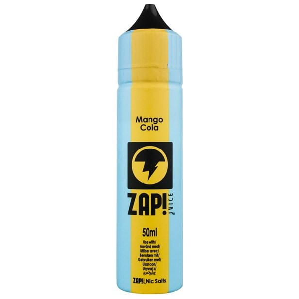bdb1453de Mango Cola E Liquid 50ml by Zap! Only £11.99 (Zero Nicotine or with