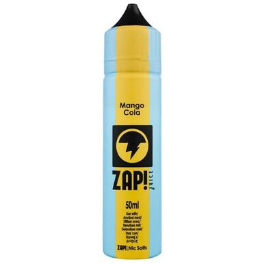 Mango Cola E Liquid 50ml by Zap! Only £11.99 (Zero Nicotine or with Free Nicotine Shot)