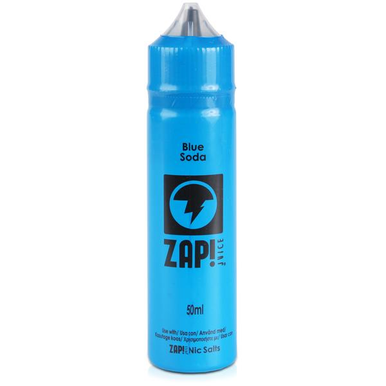 Blue Soda E Liquid 50ml by Zap! Only £11.99 (Zero Nicotine or with Free Nicotine Shot)