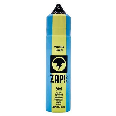 Vanilla Cola E Liquid 50ml by Zap! Only £11.99 (Zero Nicotine or with Free Nicotine Shot)