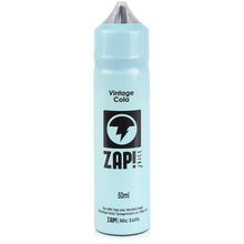 Vintage Cola E Liquid 50ml by Zap! Only £11.99 (Zero Nicotine or with Free Nicotine Shot)