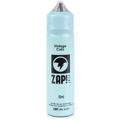 Vintage Cola E Liquid 50ml by Zap! Only £9.49 (Zero Nicotine or with Free Nicotine Shot)