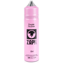 Purple Slushie E Liquid 50ml by Zap! Only £11.99 (Zero Nicotine or with Free Nicotine Shot)