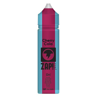 Cherry Cola E Liquid 50ml by Zap! Only £9.49 (Zero Nicotine or with Free Nicotine Shot)