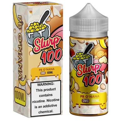 PB O'Nana - Caramel Dunk'd 100ml (120ml/3mg with Free Nicotine Shots Provided)
