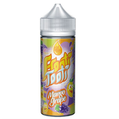 Mango Grape E Liquid 100ml Shortfill (120ml with 2 x 10ml nicotine shots to make 3mg) by Frooti Tooti E Liquids Only £12.99 (FREE NICOTINE SHOTS)