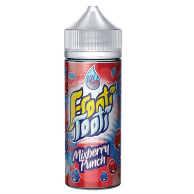 Mixberry Punch E Liquid 100ml Shortfill (120ml with 2 x 10ml nicotine shots to make 3mg) by Frooti Tooti E Liquids Only £12.99 (FREE NICOTINE SHOTS)