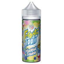 Mocktail Trouble E Liquid 100ml Shortfill (120ml with 2 x 10ml nicotine shots to make 3mg) by Frooti Tooti E Liquids Only £12.99 (FREE NICOTINE SHOTS)