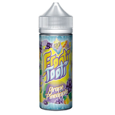 Grape Pineapple On Ice E Liquid 100ml Shortfill by Frooti Tooti
