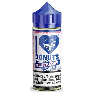 I Love Donuts Blueberry 80ml 0mg (Or 100ml 3mg With Use Of Free Nicotine Shots) By Mad Hatter