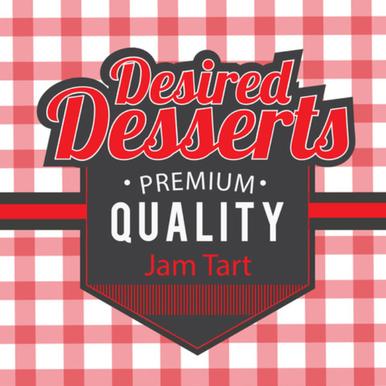 Jam Tart E Liquid 50ml (60ML/3MG With use of free Nic Shot) by Desired Desserts