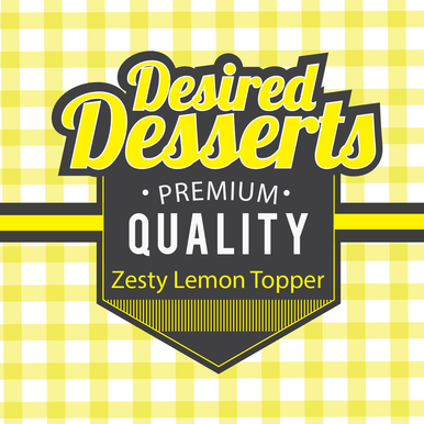 Zesty Lemon Topper E Liquid 50ml (60ML/3MG With use of free Nic Shot) by Desired Desserts