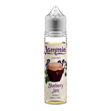 Blueberry Jam 50ml/0mg E Liquid (60ml/3mg With Use Of Free Nic Shot) By Jammin