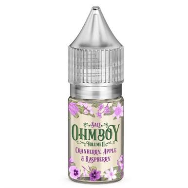 Cranberry, Apple & Raspberry Nic Salt 20mg E Liquid By Ohm Boy - 10ml