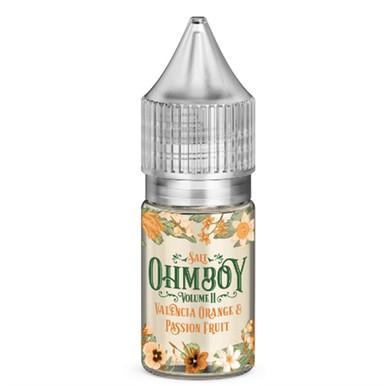 Valencia Orange & Passion Fruit Nic Salt 20mg E Liquid By Ohm Boy - 10ml