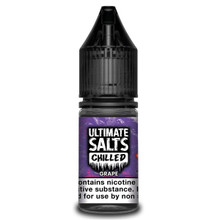 Grape Chilled - Ultimate Salts - 10ml Nic Salts