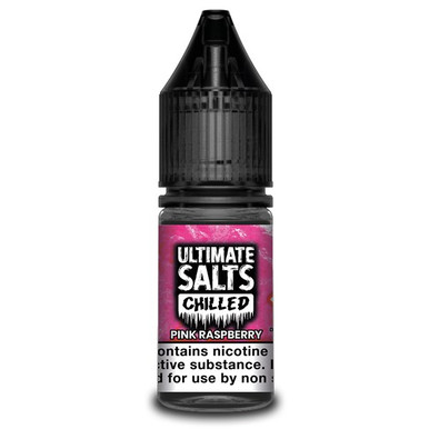 Pink Raspberry Chilled - Ultimate Salts - 10ml Nic Salts