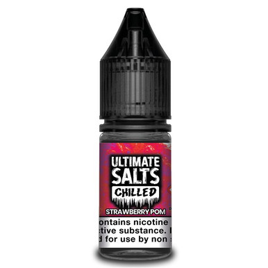 Strawberry Pom Chilled - Ultimate Salts - 10ml Nic Salts