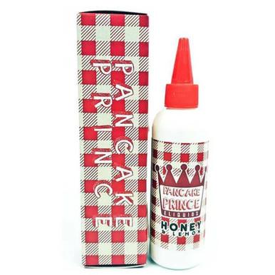 Honey & Lemon E Liquid 80ml (100ml with 2 x 10ml nicotine shots to make 3mg) by Pancake Prince (FREE NICOTINE SHOTS)