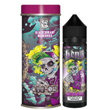 Blackcurrant Mixberries E-Liquid 50ml Shortfill 0mg (3mg/60ml With Use Of Free Nic Shot Provided) By Kenji