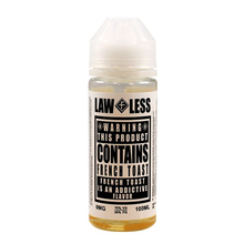French Toast E Liquid Shortfill (120ml with 2 x 10ml nicotine shots to make 3mg) Lawless By Flawless E Liquid Only £18.99 (Zero Nicotine)
