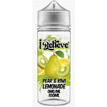 Pear & Kiwi Lemonade E Liquid 100ml Shortfill By Just Say I Believe