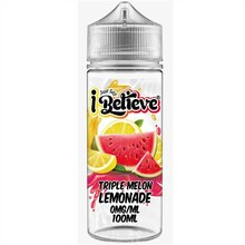 Triple Melon Lemonade E Liquid 100ml Shortfill By Just Say I Believe