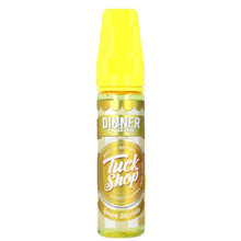 Lemon Sherbets E-Liquid 50ml 0mg (60ml/3mg with use of Free 10ml/18mg Nic Shot) By Dinner Lady