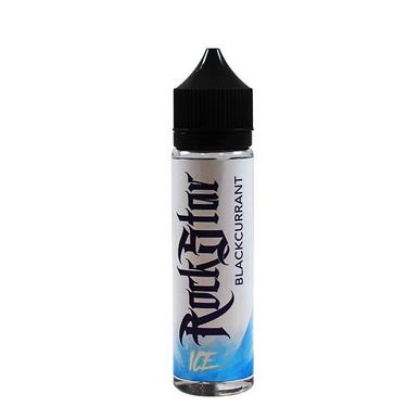 Blackcurrant Ice E-Liquid 50ml (60ml with 1 x 10ml 18mg Nicotine Shot making 3mg liquid) Shortfill by Rockstar Vape