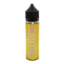 Banana & Caramel Ice Cream E-Liquid 50ml (60ml with 1 x 10ml 18mg Nicotine Shot making 3mg liquid) Shortfill by Rockstar Vape