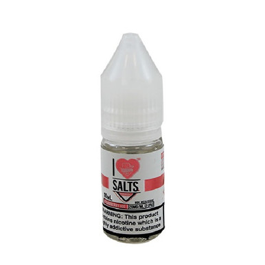 I Love Salts - Strawberry Ice - 20mg Nic Salt E-Liquid - By Mad Hatter Juice