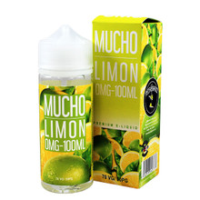 Limon E Liquid 100ml Shortfill 0mg (120ml with 2 x 10ml Nicotine Shots Making Liquid 3mg) By Mucho